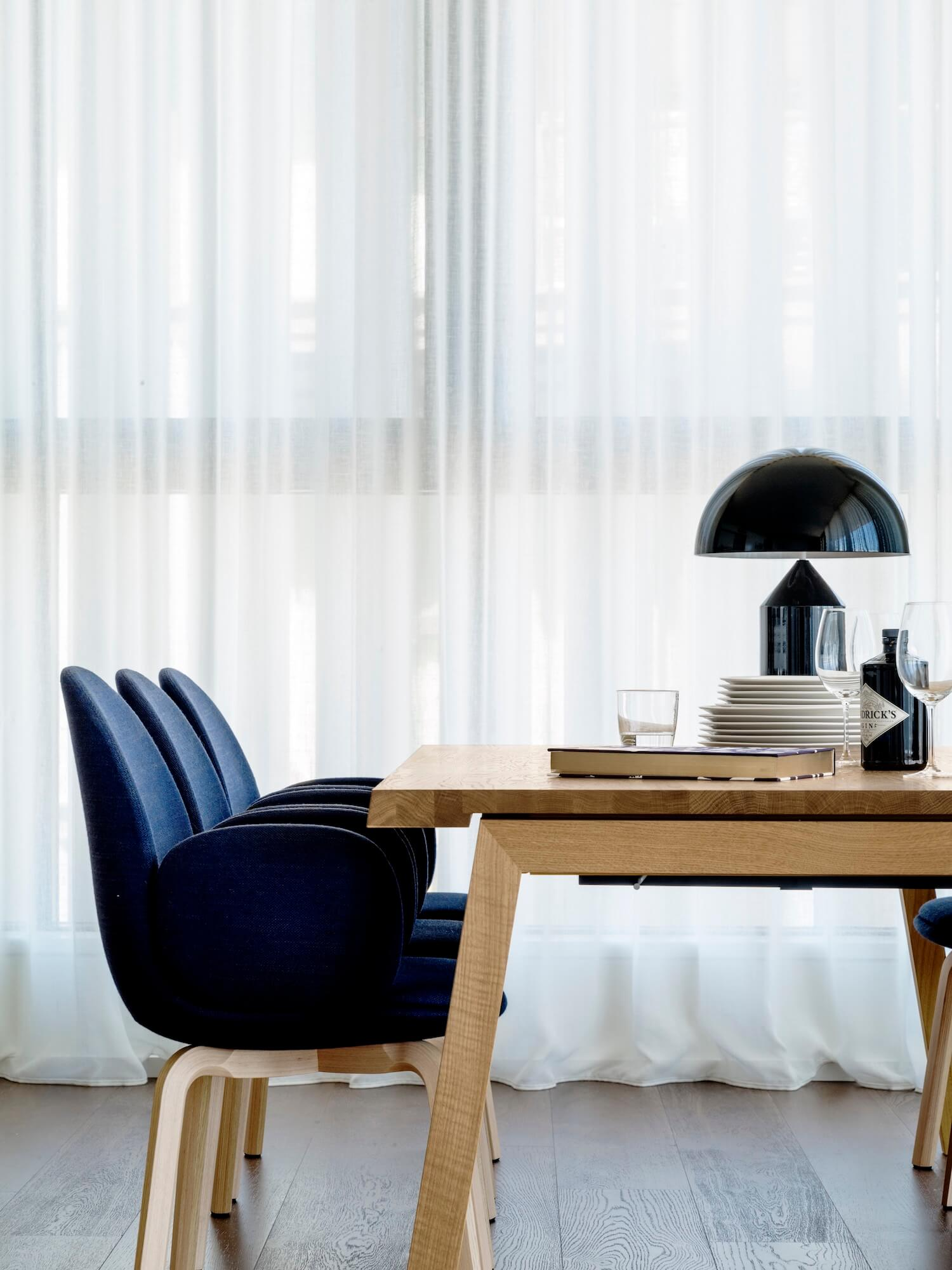 est living ana carin design barangaroo apartment dining