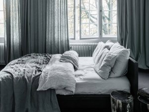 Bedroom | Shades of Grey by Annabell Kutucu