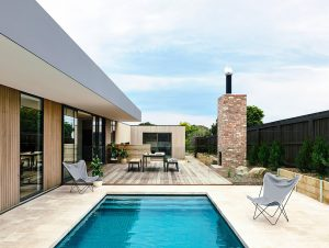 Outdoor Living | Point Lonsdale Home by InForm Design and Bek Sheppard