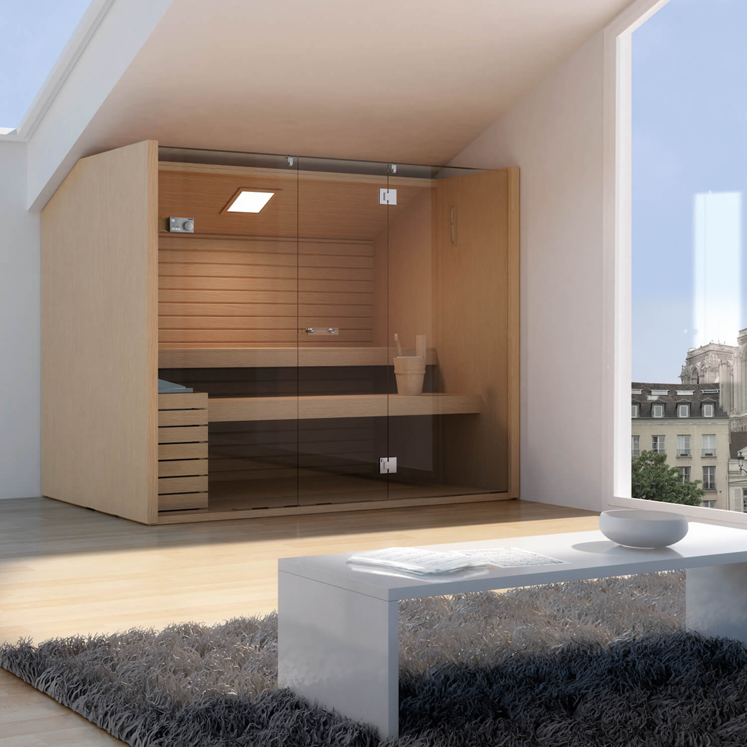 est living home spa sanctuary effegibi sauna sky line