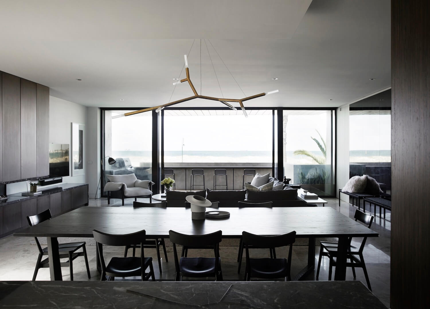 est living interiors griffiths design studio albert park apartment 7