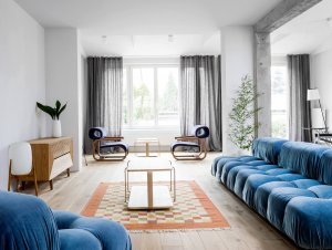 Living | Podogno Apartment Living Room by Loft Kolasinski