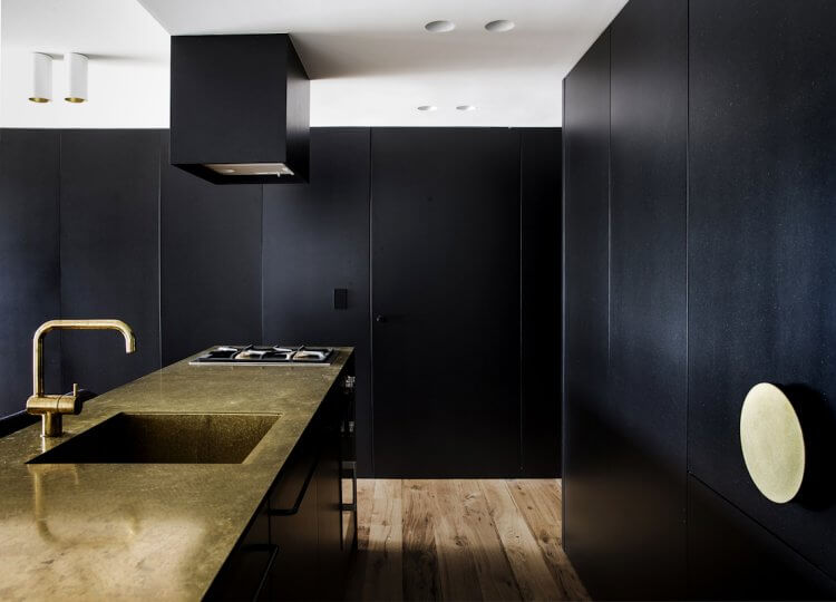 Kitchen | The Finger Wharf Apartment by Studio Prineas