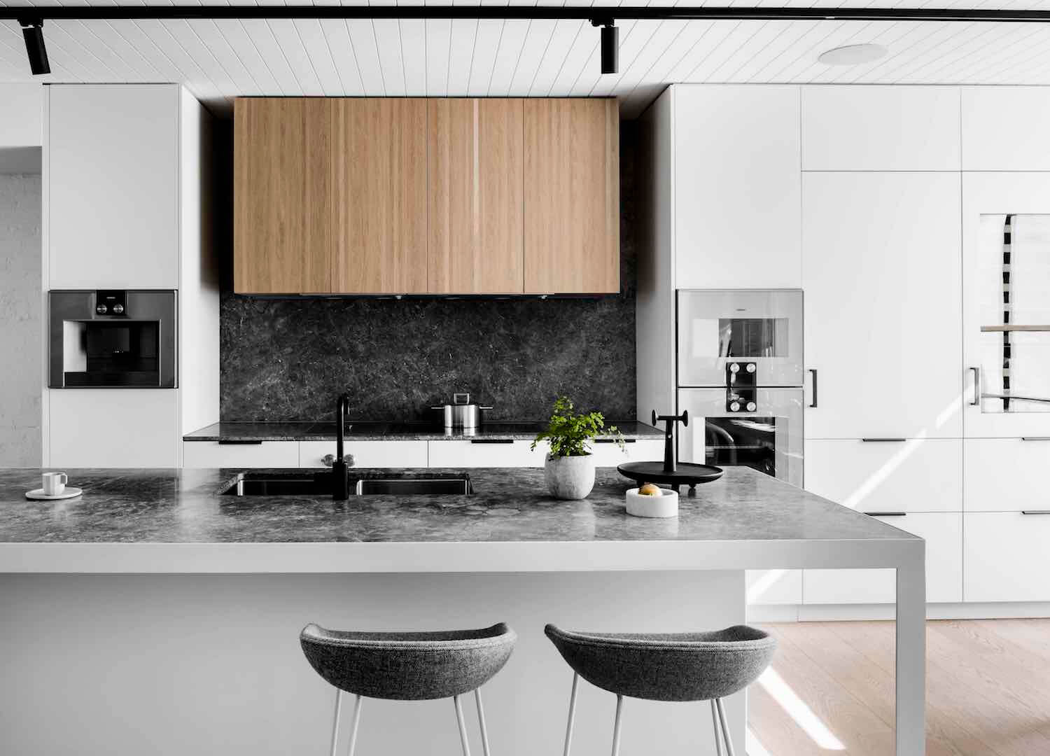est living interiors techne architects bell st residence 10