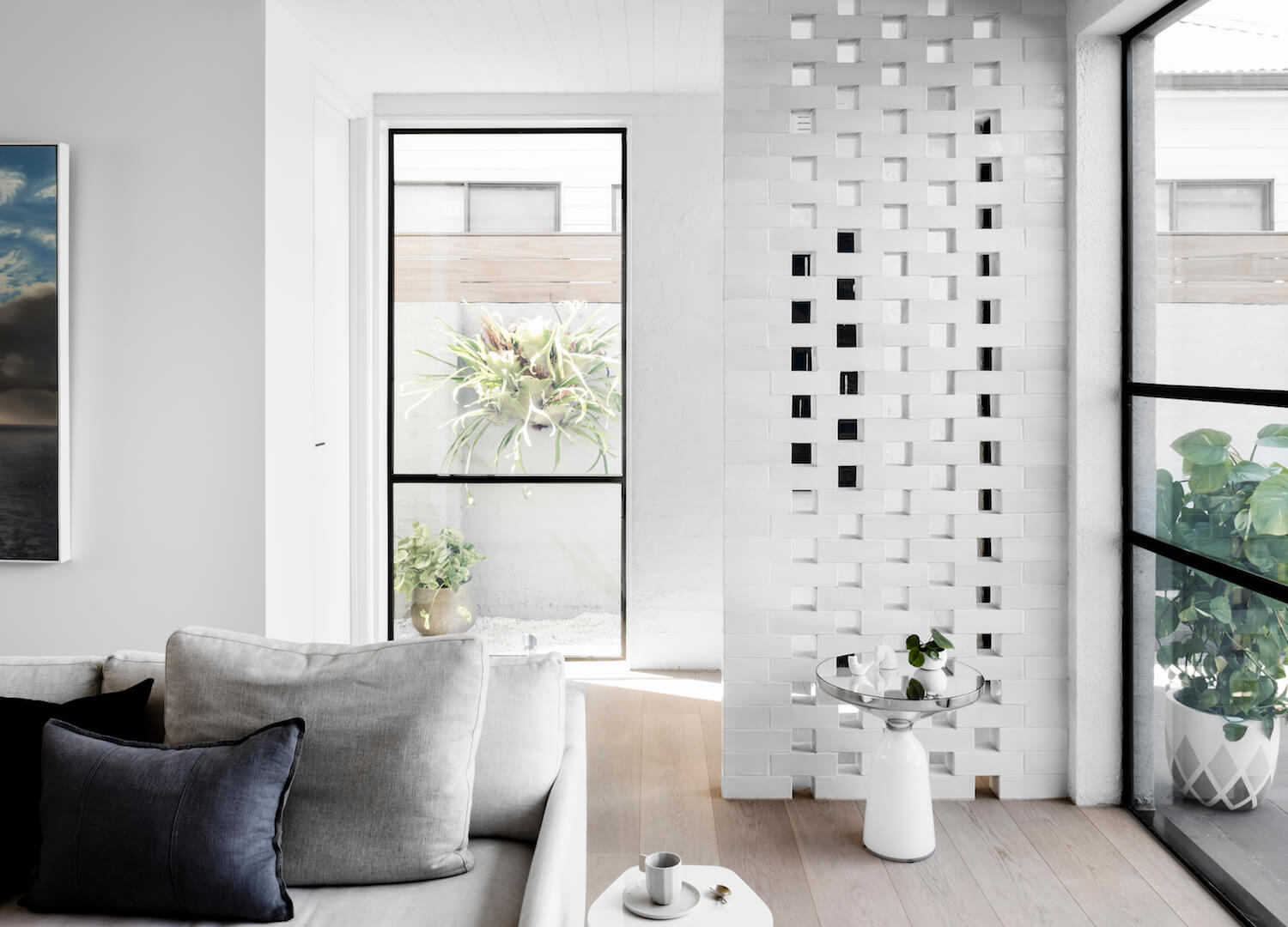 est living interiors techne architects bell st residence 5
