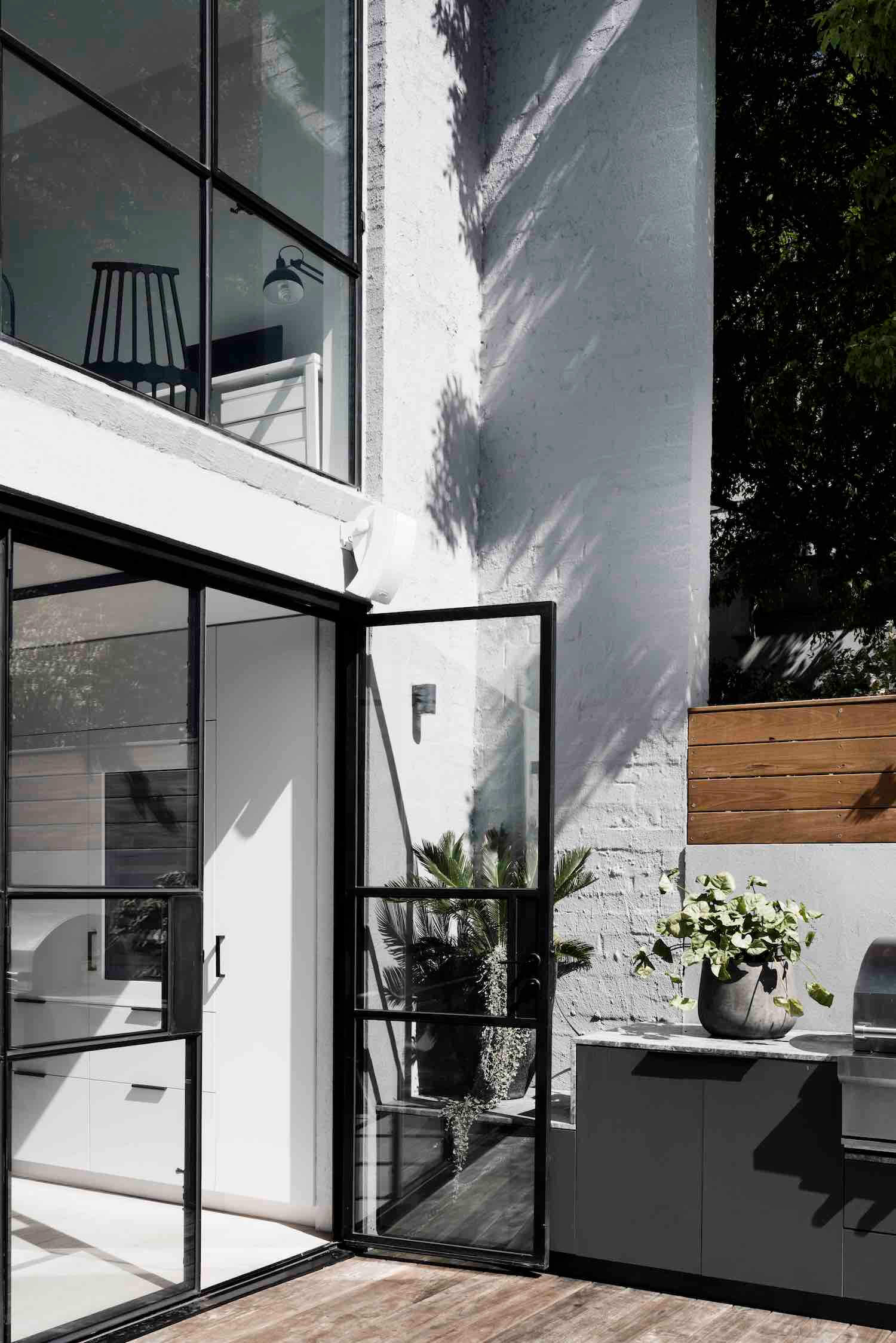 est living interiors techne architects bell st residence 9