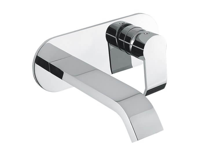 Stile Wall Mixer & Basin Spout Set