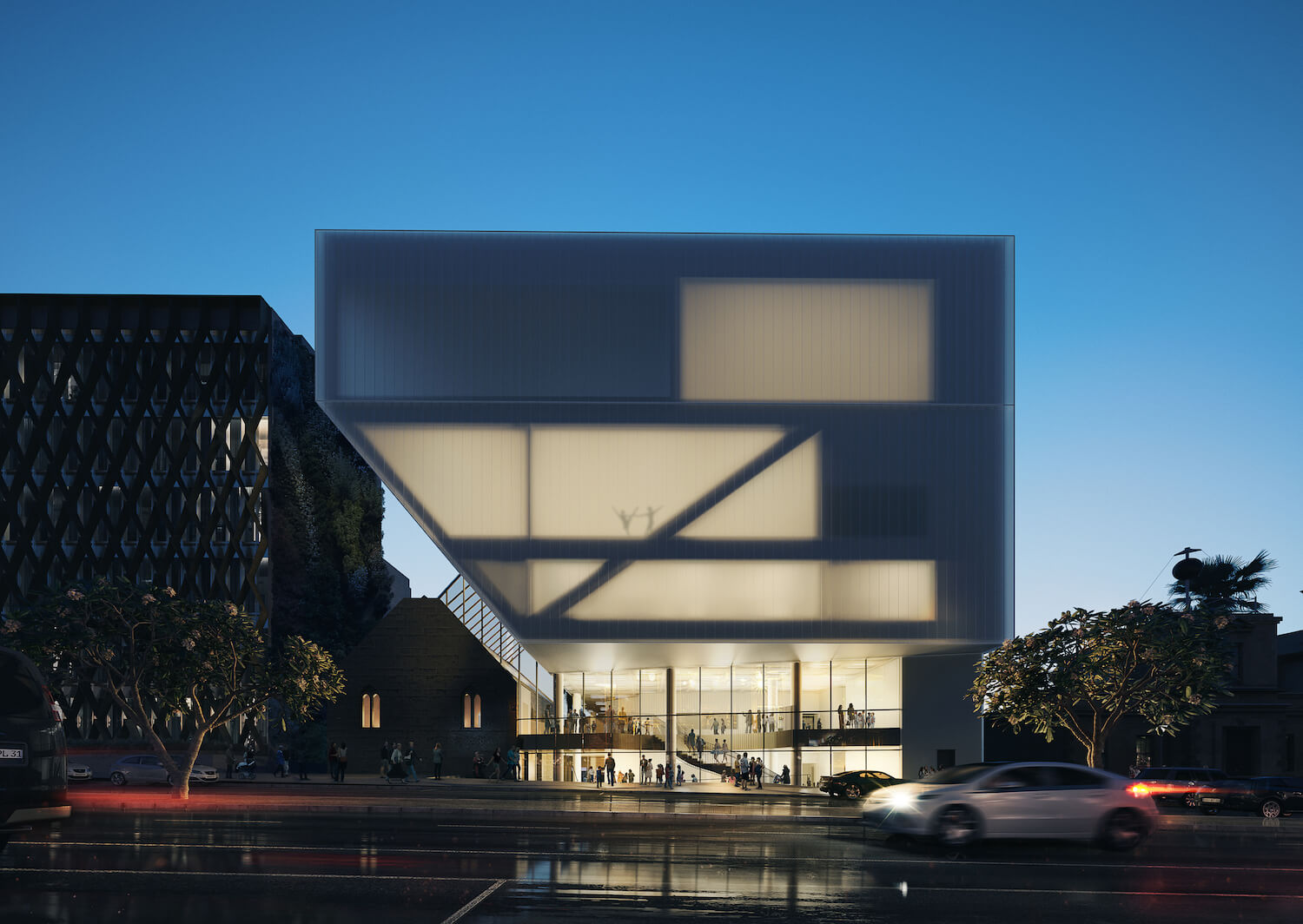 est living designer interview hassell geelong performing arts centre 2