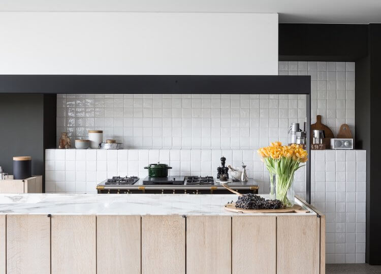 Kitchen | Belgian Barn Kitchen by Frederic Kielemoes and Vanessa Cauwe