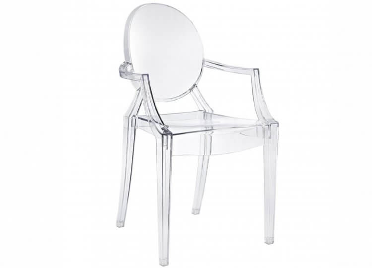 Louis Ghost Chair Philippe Starck for Kartell