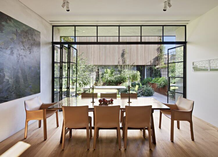 Dining | South Melbourne Home by Inglis Architects