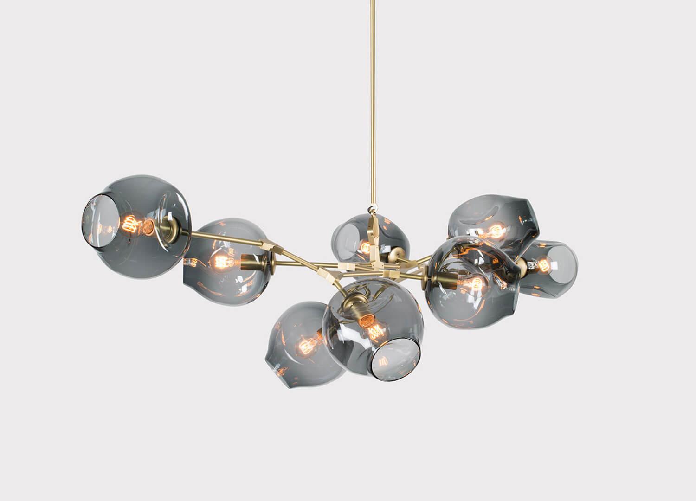 lindsay adelman branching chandelier