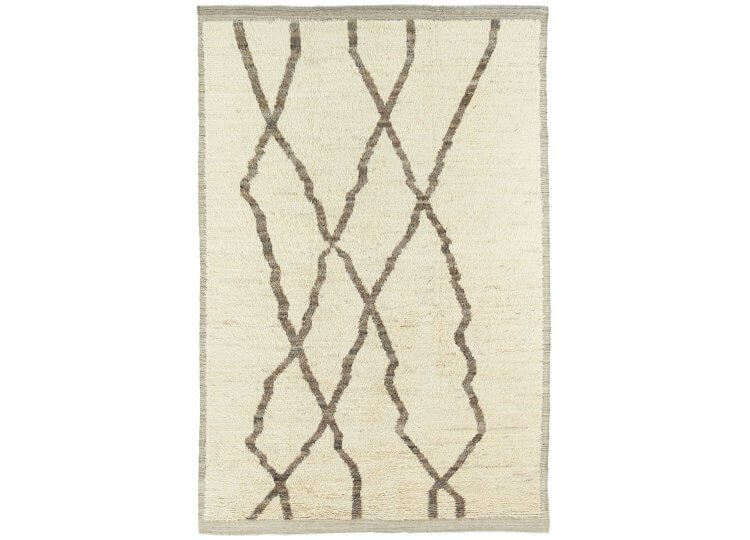 Barchi White/Grey Rug Halcyon Lake