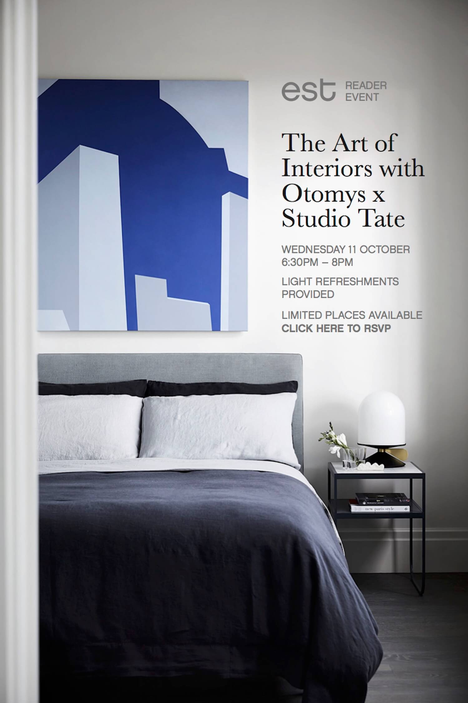 Est Reader event Art of Interiors web