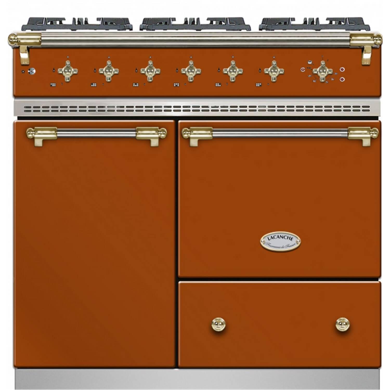 Lacanche terracotta cooker