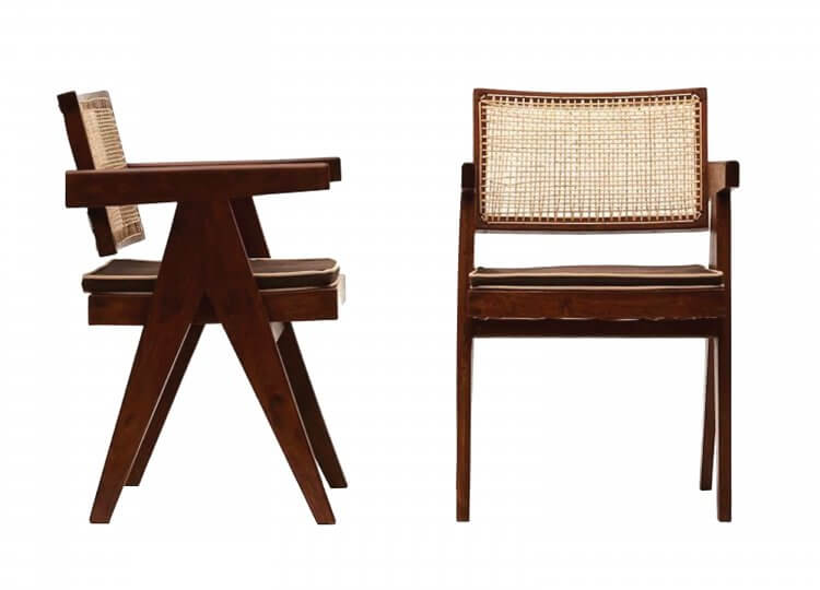 Le Corbusier & Pierre Jeanneret Desk Chair |Le Corbusier & Pierre Jeanneret