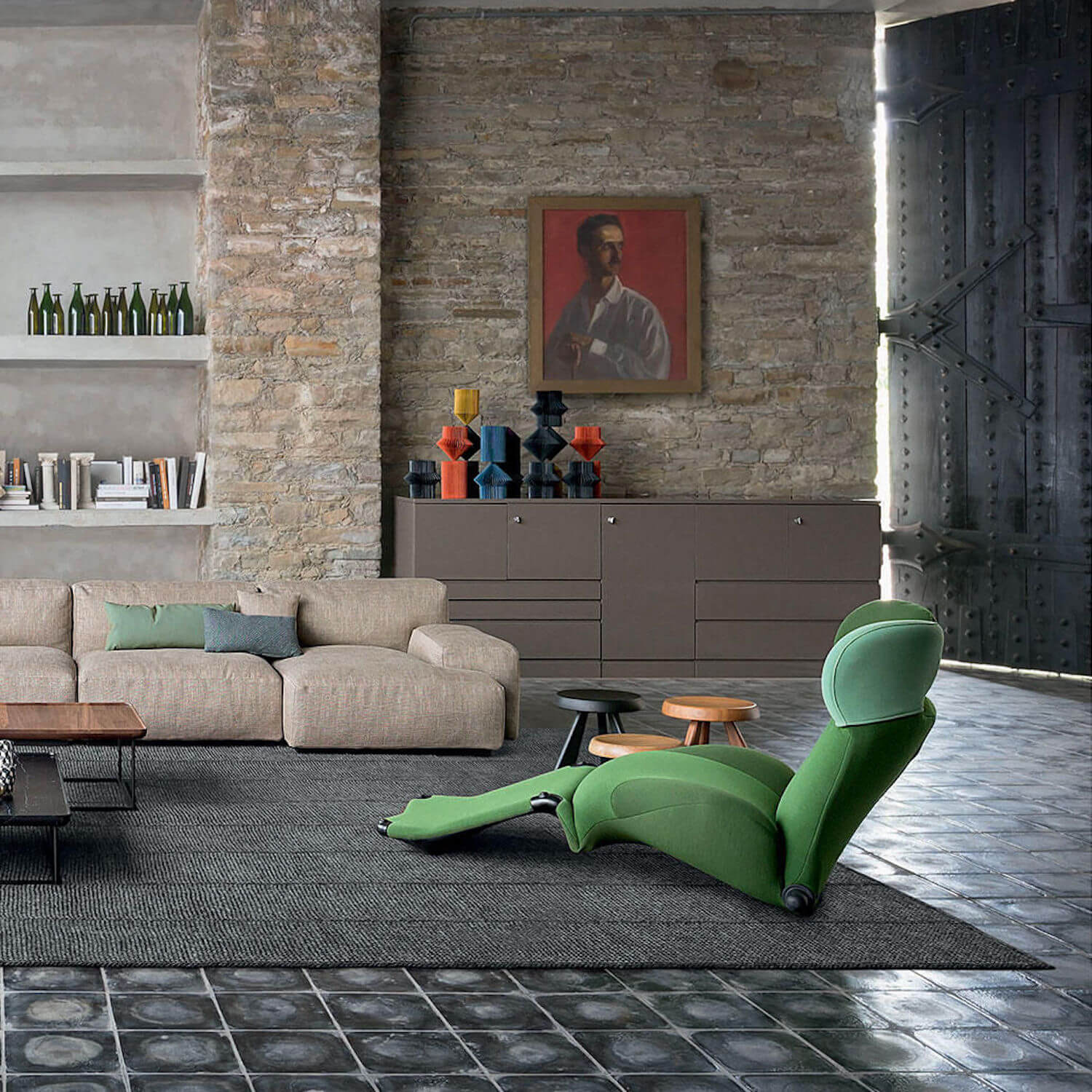 est living cassina space wink sofa