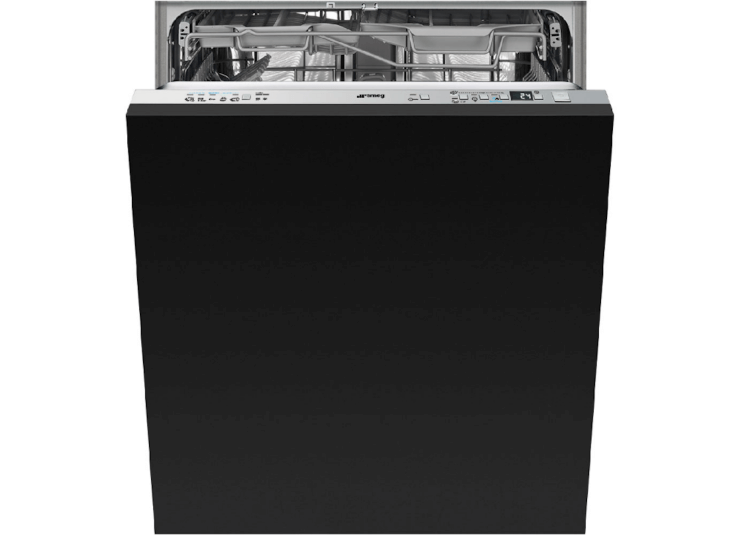 Fully-integrated dishwasher by Smeg