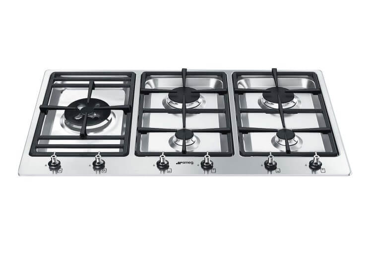 Topmount Gas Cooktop by Smeg