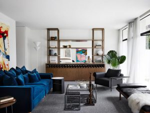 Living | A Mid-Century Sensation Living Room by Mim Design