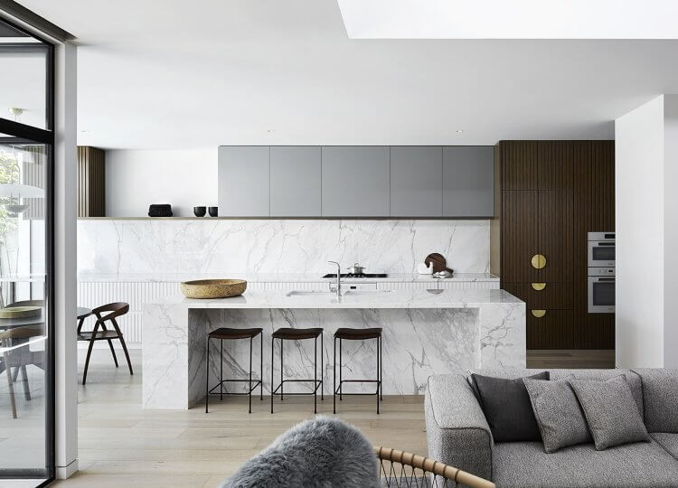 Kitchen | A Mid-Century Sensation Kitchen by Mim Design