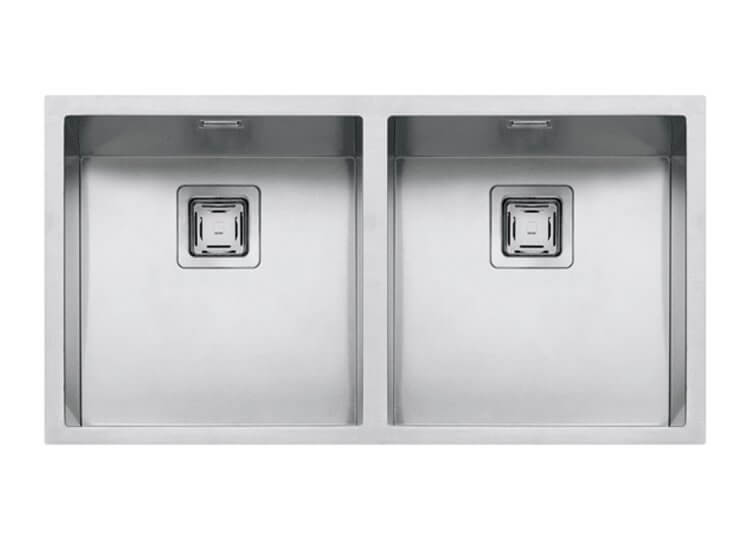 Barazza Cubo Double Bowl Sink