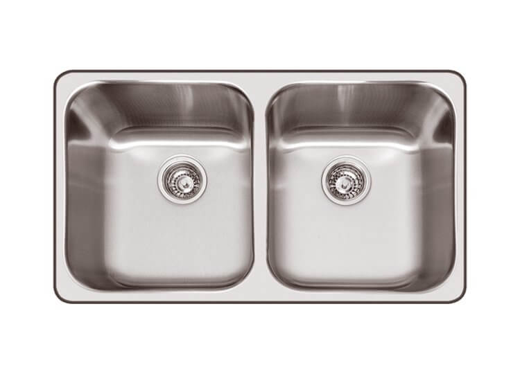 Daintree Inset Double Bowl Sink