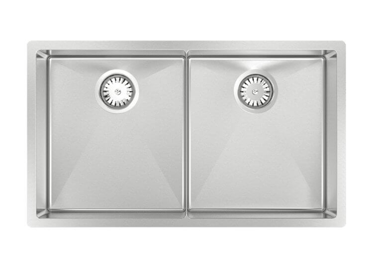 Piazza Double Square Sink Abey