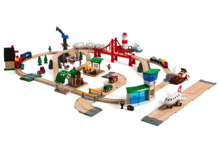 Railway World Deluxe Train Set