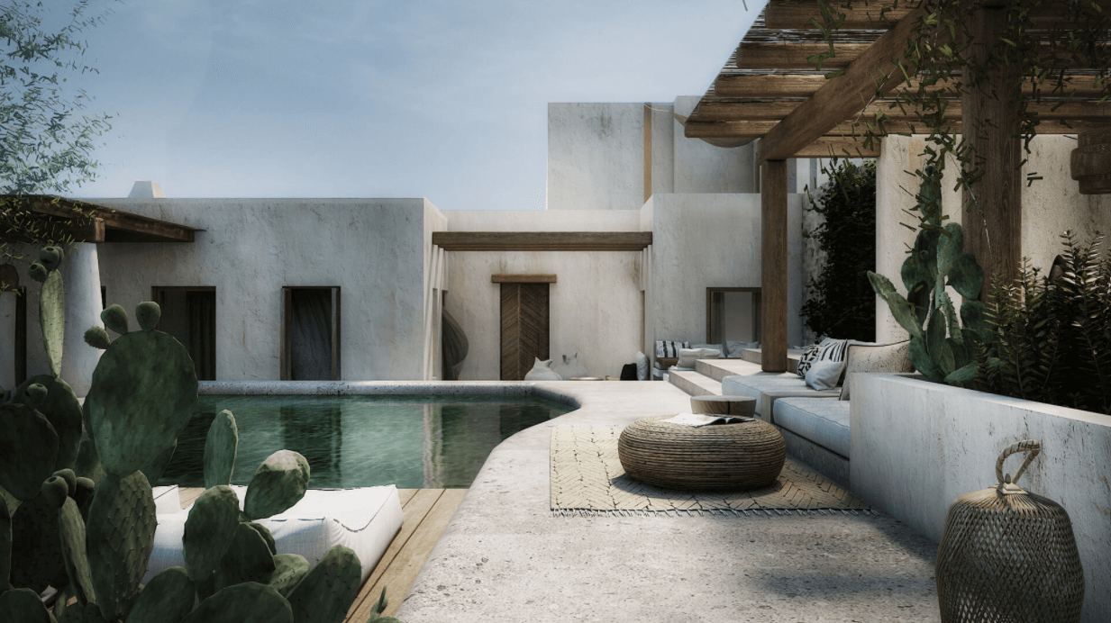 Mykonos Home by Block722+architects