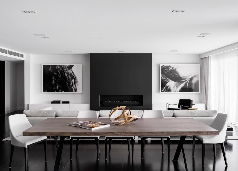 est living interiors monochrome house alwill interiors 1