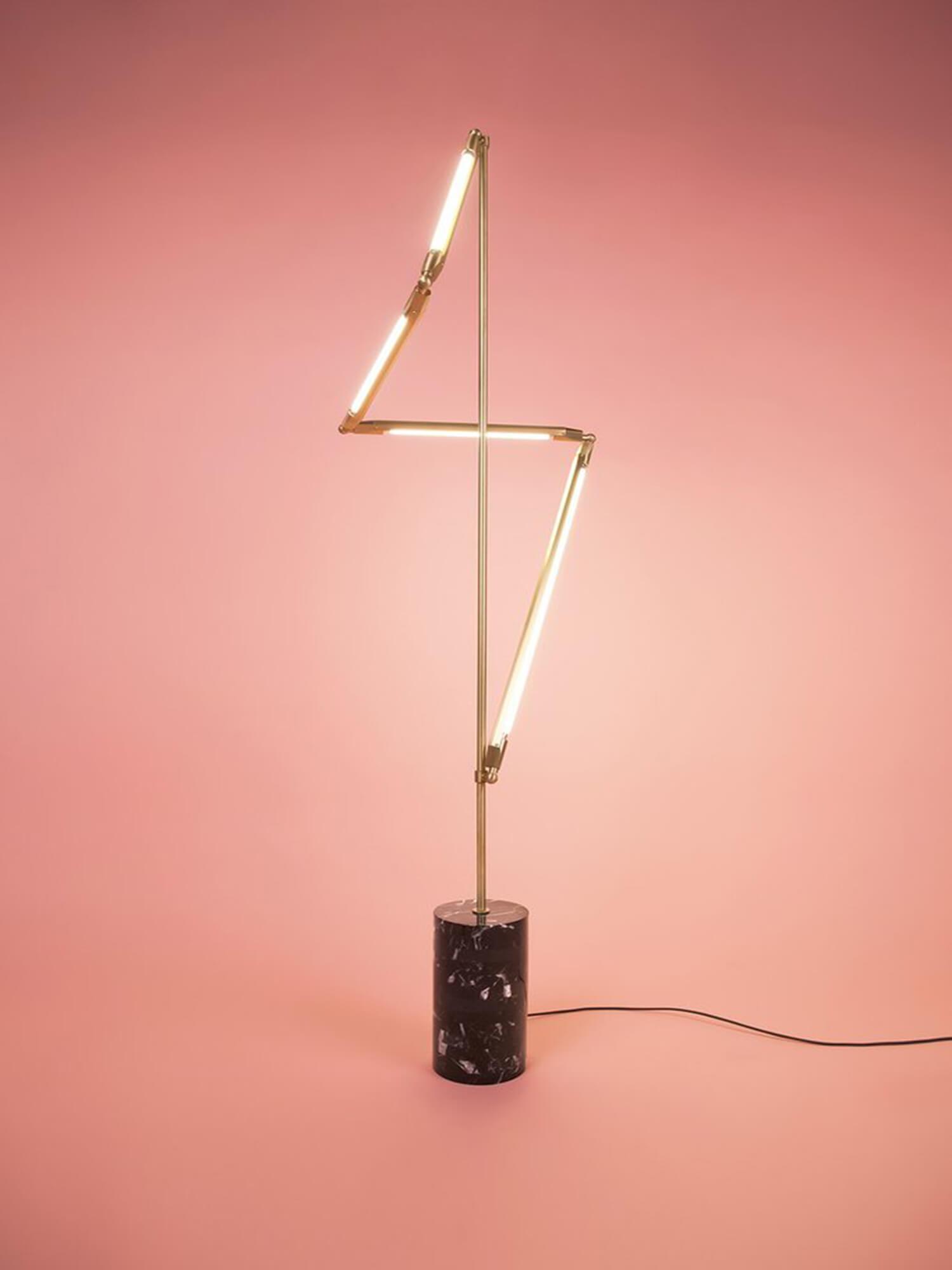 CRITERIA Bec Brittain Helix Floor Lamp