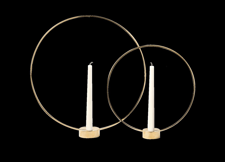 DE Gloria Brass Ring Candle