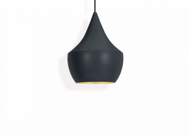 Beat Fat Black Pendant