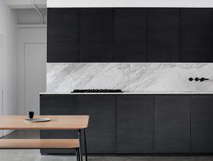 Kitchen | Apartment Saint-Laurent Kitchen by Atelier Barda