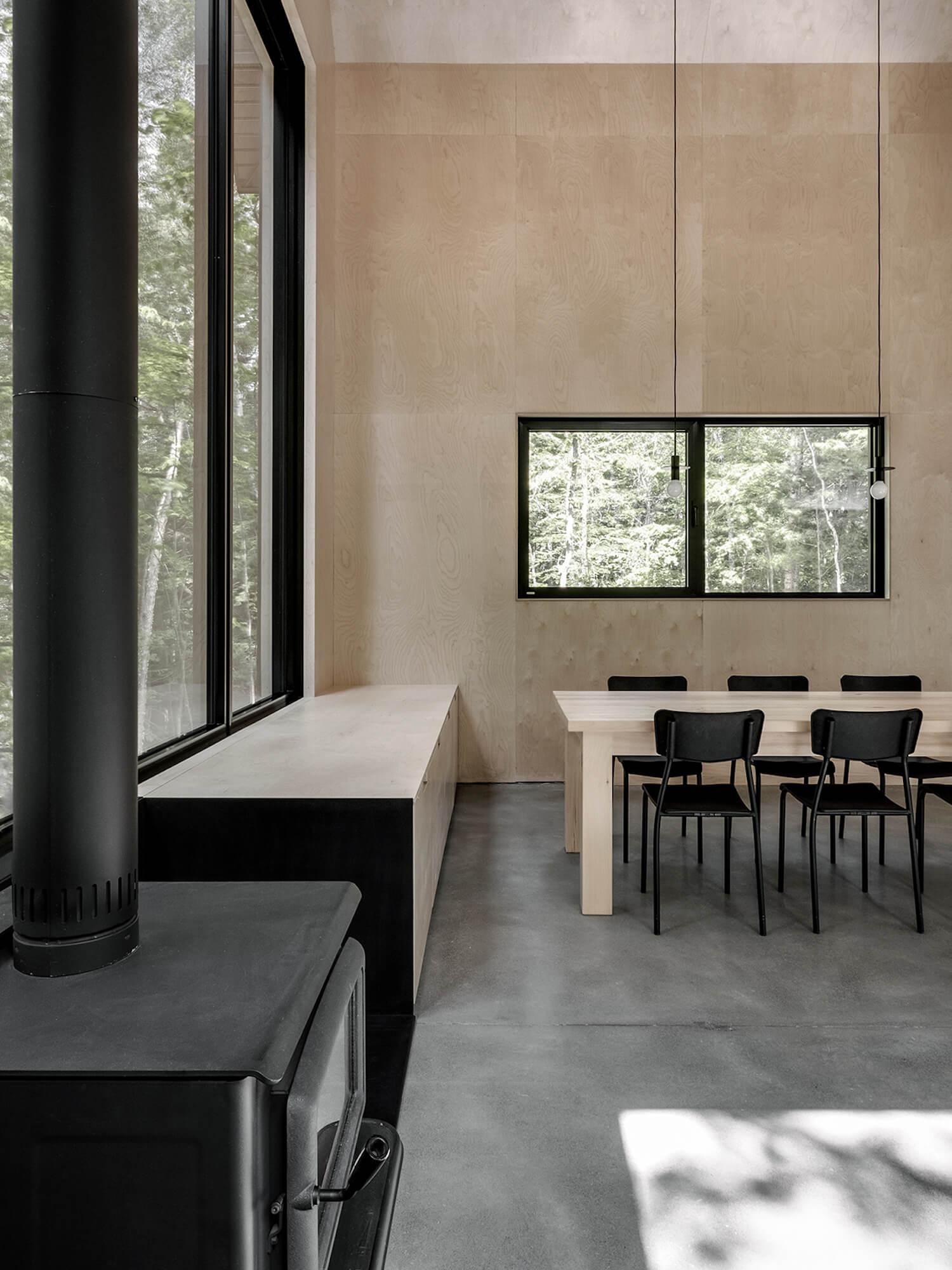 est living Grand Pic Chalet Appareil Architecture 11