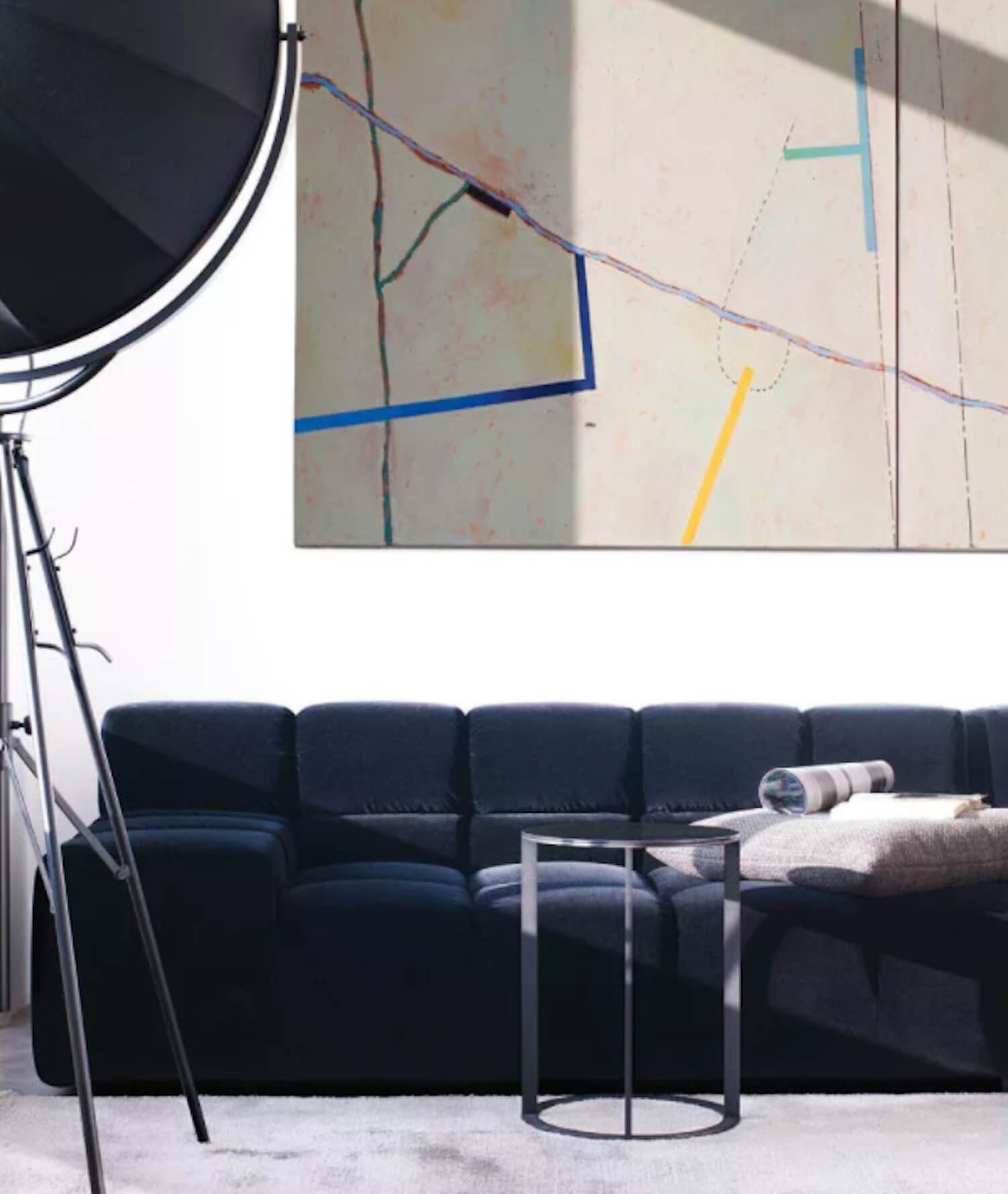 est living andrea sullivan interior style tuftytime sofa