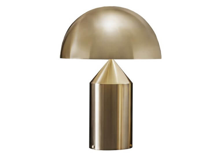 Nine to Know | Metallic Table Lamps