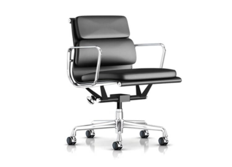Eames Soft Pad Management Chair Luke Furniture