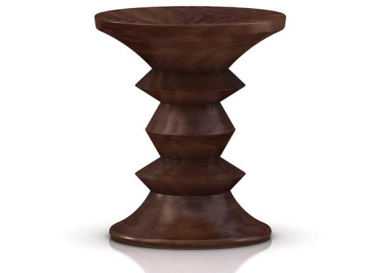 Eames Walnut Stool