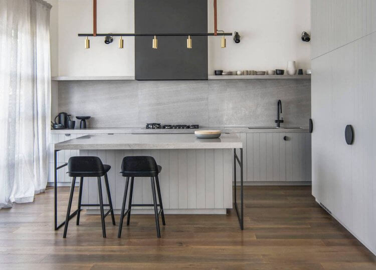 Kitchen | Melbourne Home Kitchen by CJH Studio
