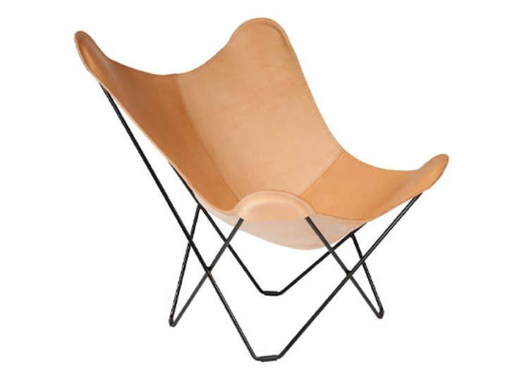 Cuero Leather Pampa Butterfly Chair