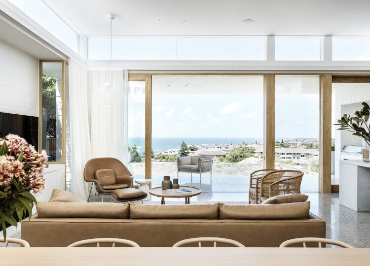 Living | Coogee House Living Room by Madeleine Blanchfield Architects
