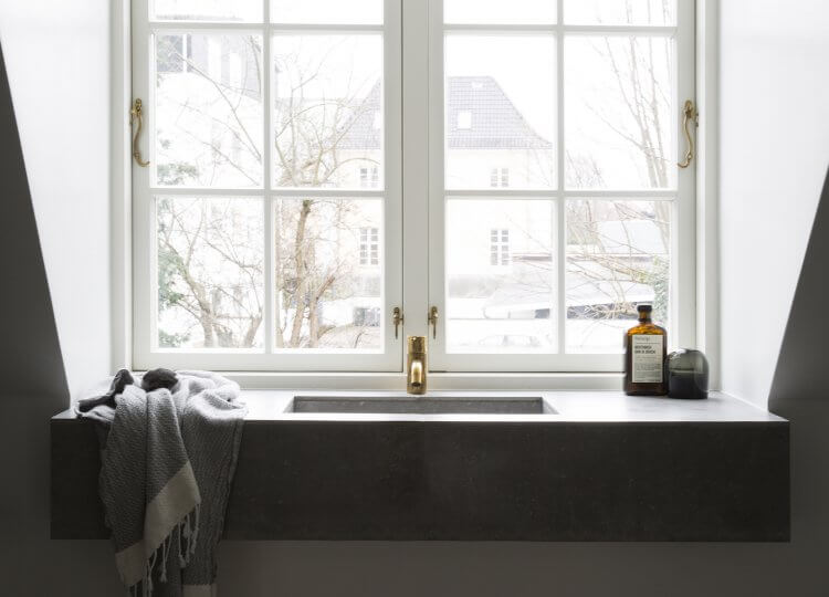 Bathroom 2 | Copenhagen Apartment Bathroom by Norm Architects