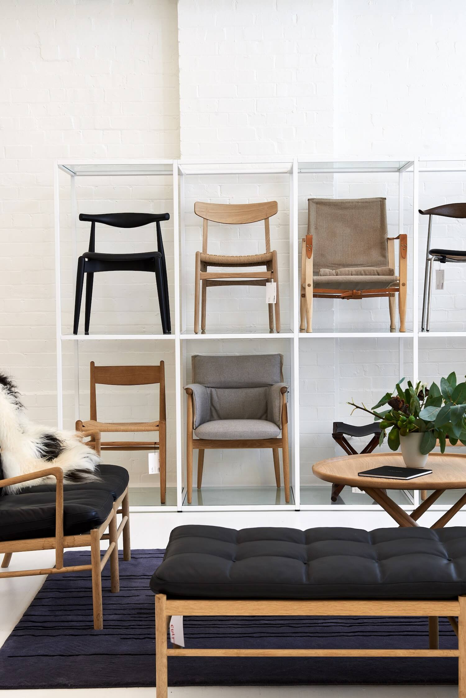 est living interiors commercial Cult Showroom Carl Hansen and Son 1
