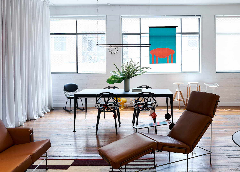 est living interiors commercial Cult Showroom Magis 1