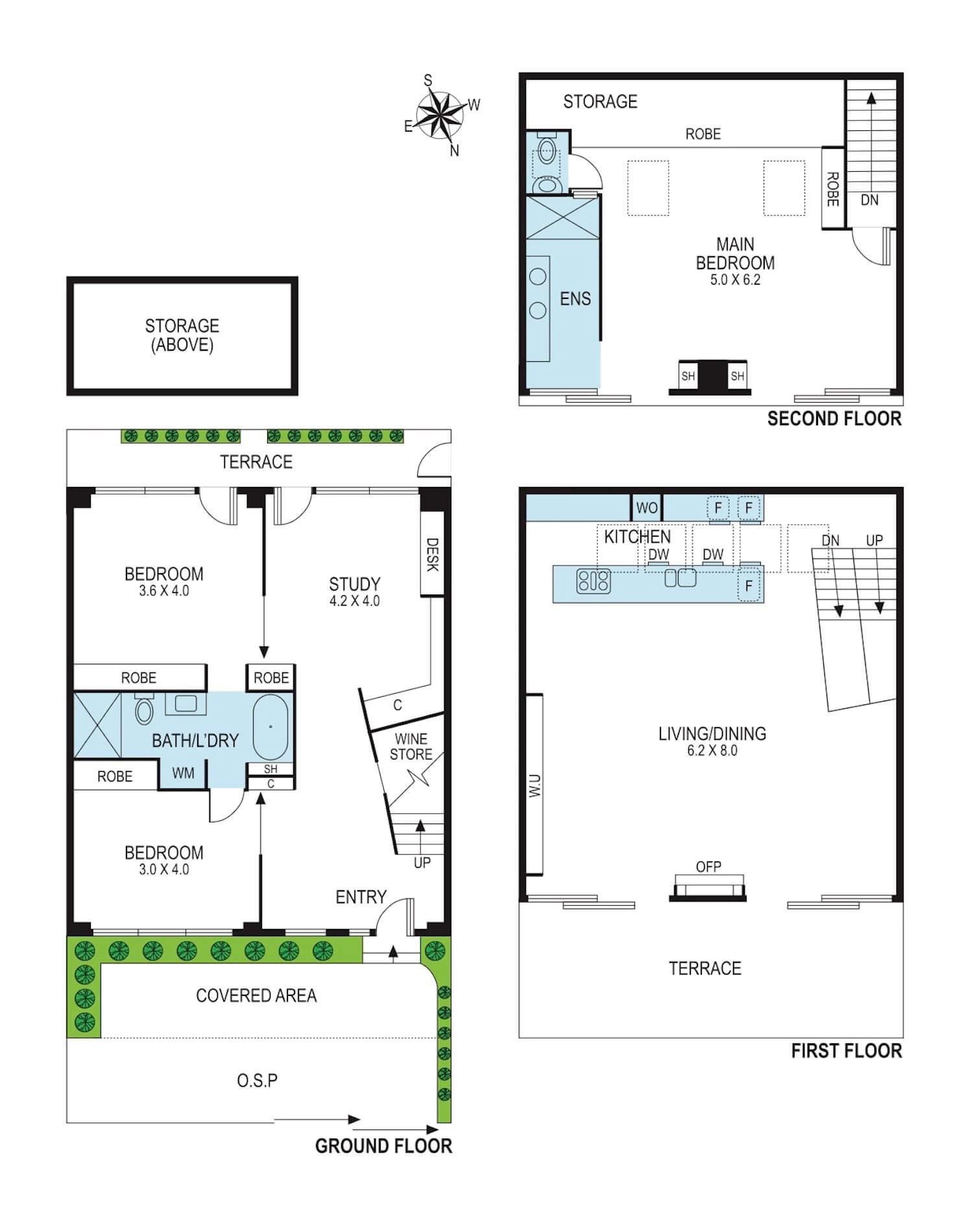 est living 26 wrede place richmond floorplan
