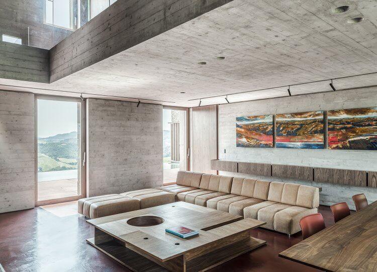 Living   AP House Living Room by Gardini Gibertini Architects
