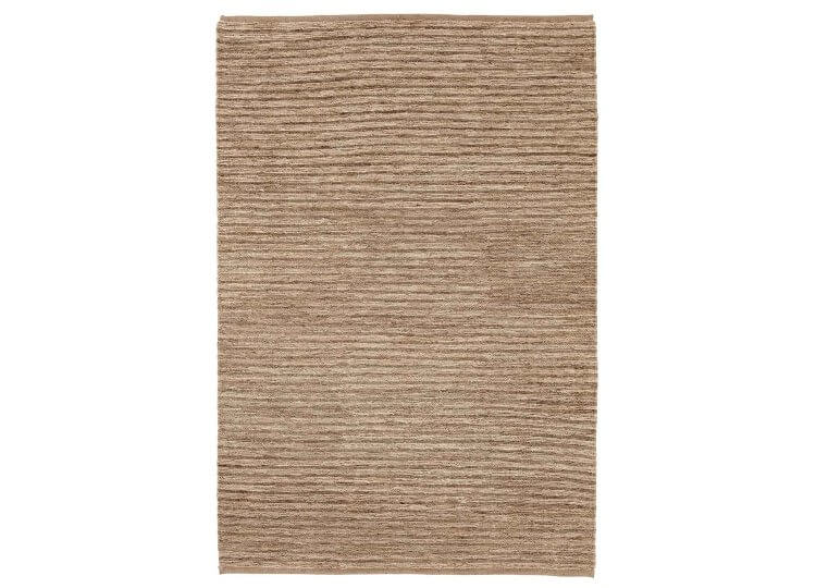 River Echo Stripe Rug – Natural & Pewter