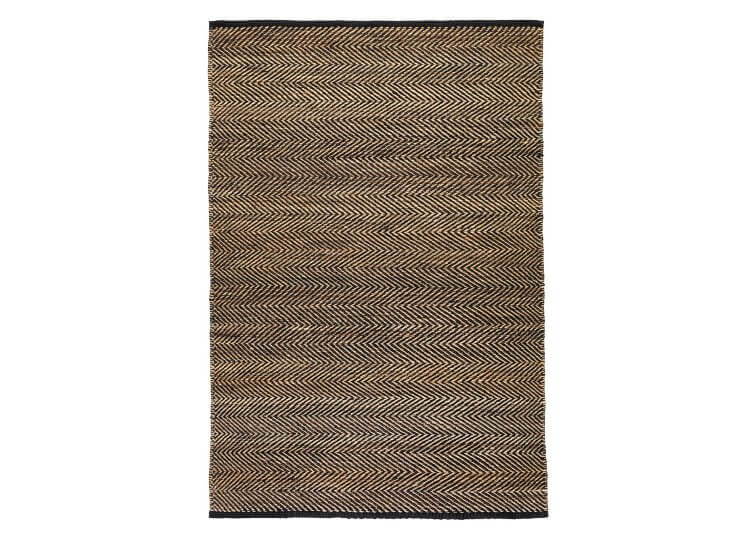 Serengeti Rug – Charcoal & Natural